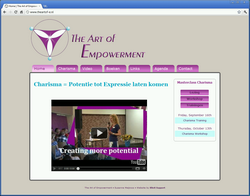 Website The Art of Empowerment