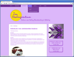 Website Zon Healingcentrum